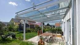 Sonnenschutz für Balkon + Terrasse: klassische Häuser von Markisen Zanker