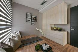 次臥房:  臥室 by 存果空間設計有限公司