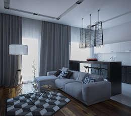 غرفة المعيشة تنفيذ JoinForces studio