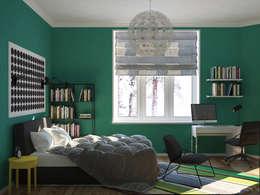 scandinavian Bedroom by JoinForces studio