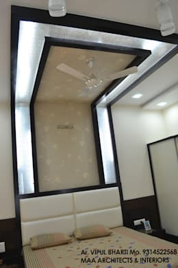 Prem Chelani ji: modern Bedroom by MAA ARCHITECTS & INTERIOR DESIGNERS