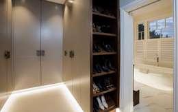 غرفة الملابس تنفيذ Studio K Design