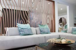 Sala de Estar : Salas de estar modernas por Glim - Design de Interiores Lda