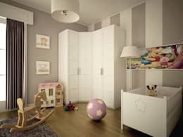Dormitorios infantiles de estilo moderno de MC Rendering Solution