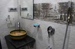 Bathroom design: rustic Bathroom by Vinayak Interior | Interior Designing and Decorator Companies