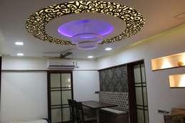 : modern Dining room by Vinayak Interior | Interior Designing and Decorator Companies