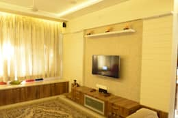 Residence: Vile parle: modern Living room by Vinayak Interior | Interior Designing and Decorator Companies