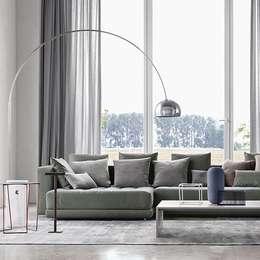 Livings de estilo minimalista por Création Contemporaine