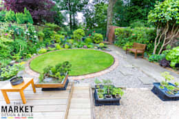 The Ruislip Side Extension: modern Garden by The Market Design & Build
