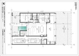 Casas de estilo moderno por Estudio de Arquitectura Lucía Farías