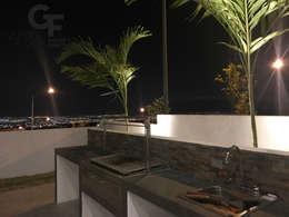 Hiên, sân thượng by GF ARQUITECTOS