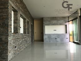 Sala - Comedor: Salas de estilo moderno por GF ARQUITECTOS