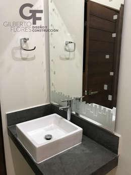 Lavabo: Baños de estilo  por GF ARQUITECTOS
