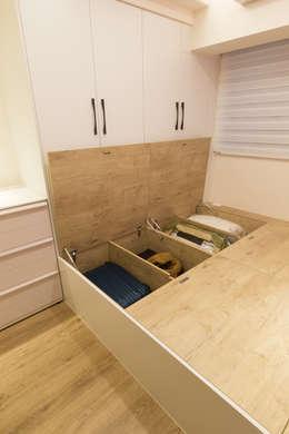 scandinavian Bedroom by 淳睦設計‧系統家具