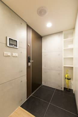 Corridor & hallway by 淳睦設計‧系統家具