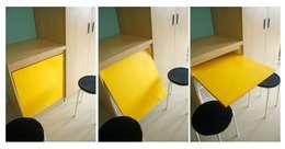Studio Apartment - Park View Condominium Depok:  Ruang Makan by RANAH