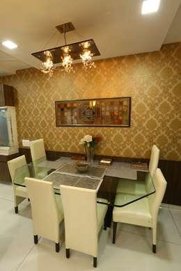 Basant Park - Chembur: modern Dining room by Aesthetica