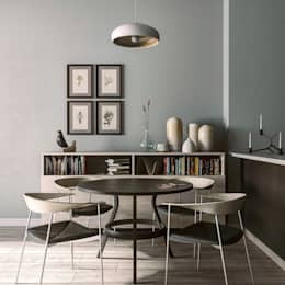 minimalistic Dining room by MENTAL ARC DESIGN