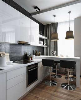 33 квадрата: Кухни в . Автор – Дизайнер Светлана Юркова