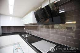 광장동 현대홈타운: Design Daroom 디자인다룸의  주방