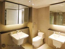 광장동 현대홈타운: Design Daroom 디자인다룸의  화장실