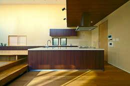Projekty,  Kuchnia zaprojektowane przez TERAJIMA ARCHITECTS
