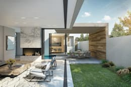 Marwah_33: modern Living room by Ahmed Akoob Architects