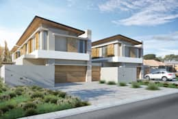 Marwah_33: modern Houses by Ahmed Akoob Architects