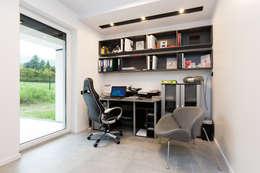 minimalistische Arbeitszimmer von in2home