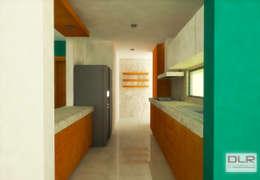 COCINA: Cocinas de estilo minimalista por DLR ARQUITECTURA/ DLR DISEÑO EN MADERA