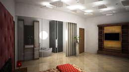 Laurel Interiors: modern Bedroom by Gurooji Design