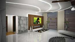 Laurel Interiors: modern Living room by Gurooji Design