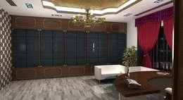 مكتب عمل أو دراسة تنفيذ Gurooji Design