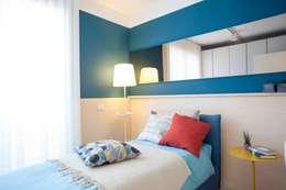 Dormitorios de estilo ecléctico de Marianna Porcellato Porvett