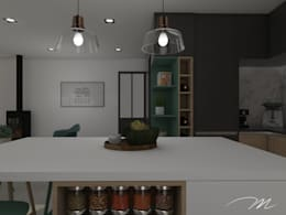 廚房 by Agence Maïlys MOUTON
