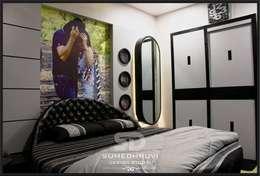 modern Bedroom by SUMEDHRUVI DESIGN STUDIO