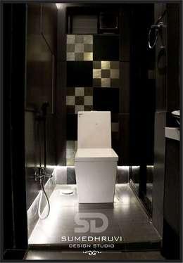modern Bathroom by SUMEDHRUVI DESIGN STUDIO
