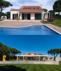 Casas de estilo moderno por StudioCAN