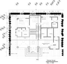 10 planos de casas para que te inspires a dise ar la tuya for Libros de planos arquitectonicos
