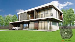 บ้านพักอาศัย 2 ชั้น.:   by แก่นแท้