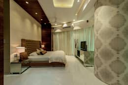 Master Bedroom: modern Bedroom by Dzign thoughts
