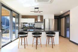 modern Dining room by 공감로하 건축사사무소