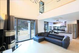 modern Living room by 공감로하 건축사사무소