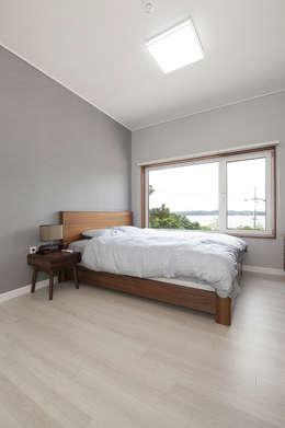 modern Bedroom by (주)그린홈예진