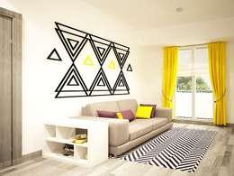 Diseño de sala: Salas de estilo moderno por Zono Interieur