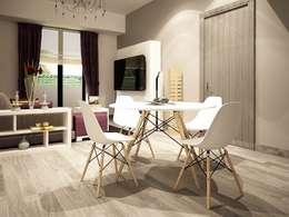 Comedores de estilo moderno por Zono Interieur