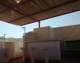 Departamento Ñ-05: Terrazas de estilo  por Maref Arquitectos