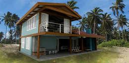 Casas de estilo tropical por Mutabile