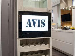 kitchen tv: classic Kitchen by AVEL