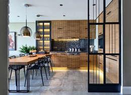 Projekty,  Kuchnia zaprojektowane przez Esra Kazmirci Mimarlik